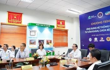 BV Nhi Trung ương đưa vào sử dụng hệ thống hỗ trợ tư vấn khám, chữa bệnh từ xa