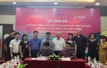 Hợp tác quảng bá du lịch Việt giữa Tạp chí Du lịch và Tiktok