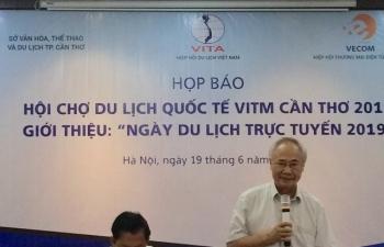 Khoảng 300 doanh nghiệp dự Hội chợ du lịch quốc tế Cần Thơ 2019