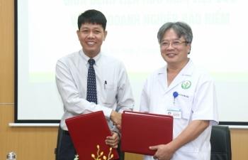 BV Hữu nghị Việt Đức ký thoả thuận với doanh nghiệp bảo hiểm