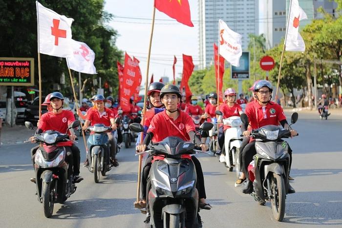 42 tỉnh, thành phố tham gia Hành trình Đỏ