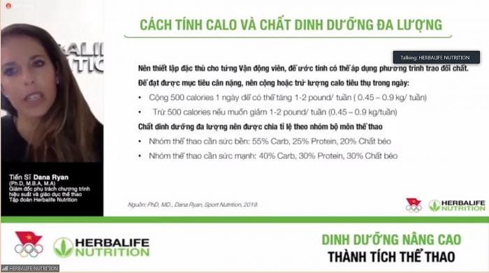 Herbalife Việt Nam sẽ tài trợ nhiều sản phẩm dinh dưỡng cho các vận động viên thể thao
