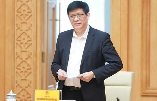 Ông Nguyễn Thanh Long được Thủ tướng giao quyền làm Bộ trưởng Bộ Y tế