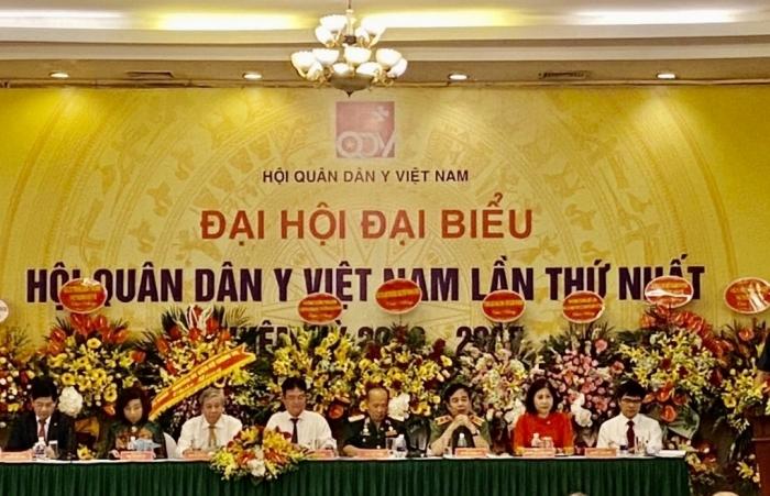 Hội Quân dân y Việt Nam thực hiện nhiều nhiệm vụ liên quan tới công tác chăm sóc sức khoẻ nhân dân