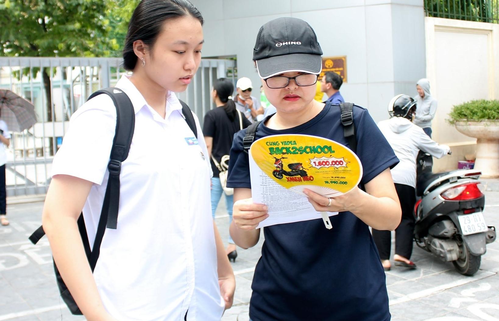 Hà Nội: Không có thí sinh vi phạm quy chế thi ở môn Ngoại ngữ