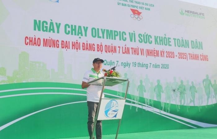 Herbalife Việt Nam đồng hành cùng Ngày chạy vì sức khỏe toàn dân