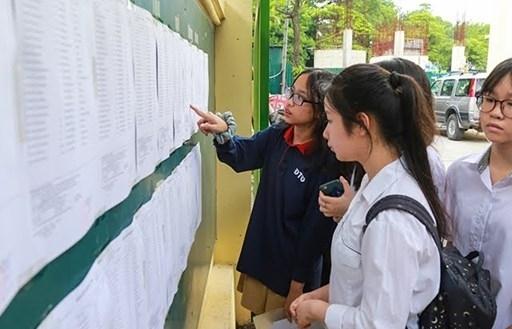 Hà Nội: Bắt đầu nhận hồ sơ nhập học lớp 10