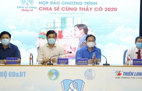 phat dong chuong trinh chia se cung thay co nam 2020