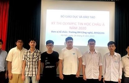 Học sinh Việt Nam đạt huy chương vàng tại Olympic Tin học châu Á