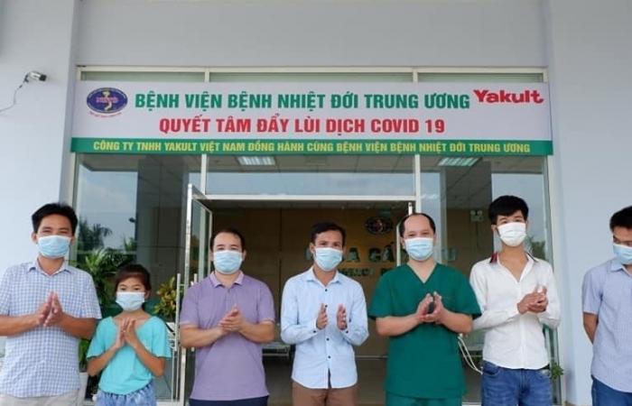 10 bệnh nhân Covid-19 được công bố khỏi bệnh