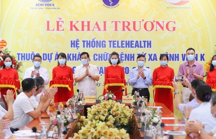Bệnh viện K khai trương và đưa vào hoạt động hệ thống Telehealth
