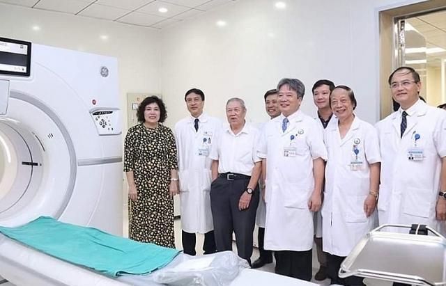 BV Việt Đức đưa vào sử dụng nhiều máy móc hiện đại phục vụ bệnh nhân