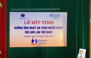 Phát động Ngày An toàn người bệnh thế giới lần thứ nhất