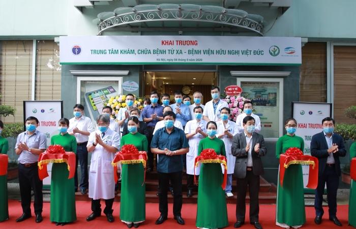 Bệnh viện Việt Đức khai trương Trung tâm Tư vấn khám, chữa bệnh từ xa