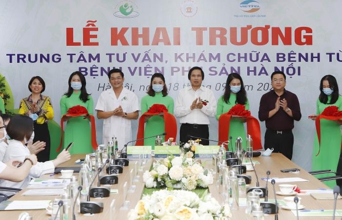 Bệnh viện Phụ sản Hà Nội khai trương Trung tâm Khám chữa bệnh từ xa