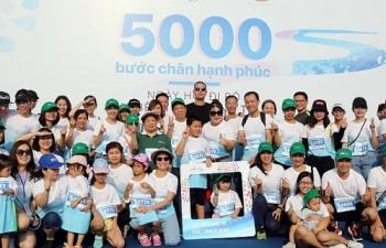 Ngày hội đi bộ vì bệnh nhân ung thư Việt Nam 2019