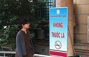 """Quyết tâm nói """"không"""" với thuốc lá tại nơi công cộng"""