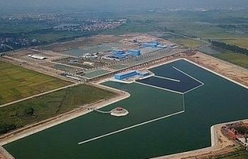 Nhà máy nước mặt sông Đuống chưa có