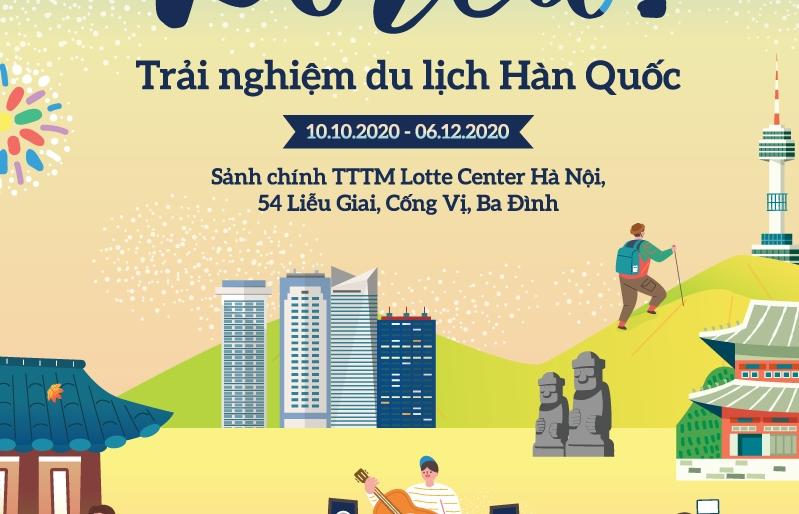"""""""Hi! Korea- Trải nghiệm du lịch Hàn Quốc"""" ngay tại Hà Nội"""