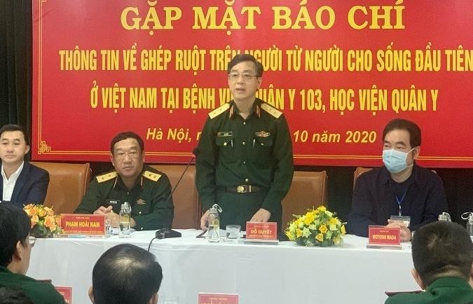 Công bố ca ghép ruột từ người cho sống đầu tiên ở Việt Nam