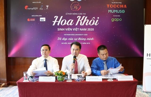 Khởi động cuộc thi Hoa khôi sinh viên Việt Nam 2020