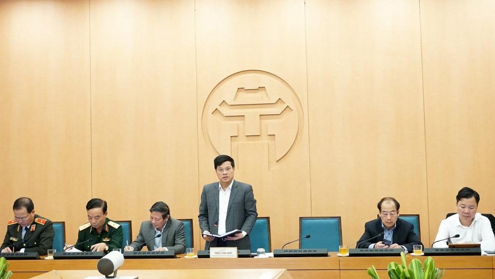 Hà Nội: Xử lý nghiêm những người không đeo khẩu trang nơi công cộng