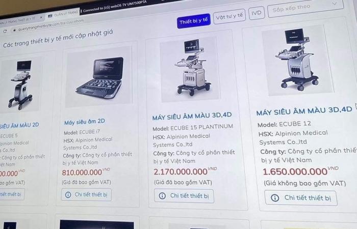 Công khai giá thiết bị y tế: Nỗ lực minh bạch thị trường
