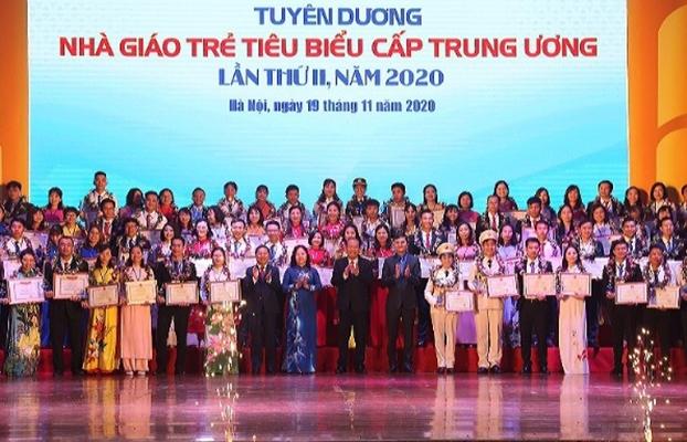 Tuyên dương 99 nhà giáo trẻ tiêu biểu cấp Trung ương