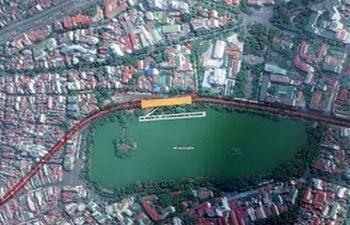 Hà Nội: Vay hơn 30.000 tỉ vốn ODA xây dựng metro qua Hồ Gươm