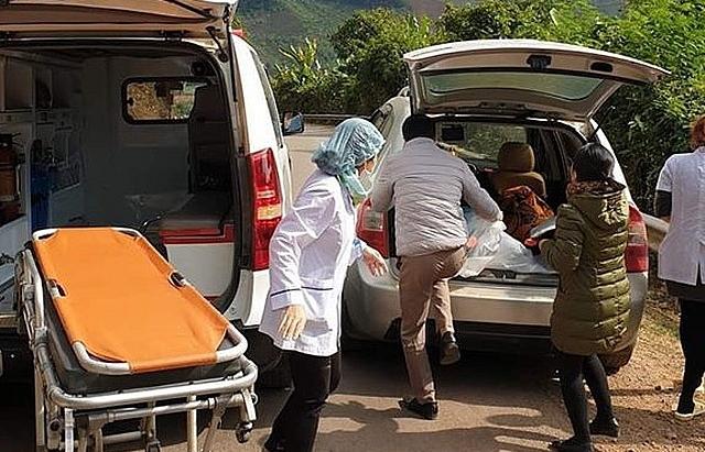 BV tuyến huyện hỗ trợ trạm y tế cấp cứu sản phụ nguy kịch