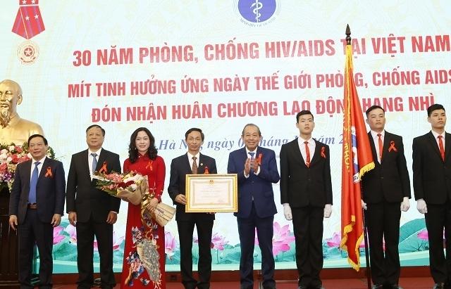 Nhiều thách thức trong việc chấm dứt dịch HIV tại Việt Nam