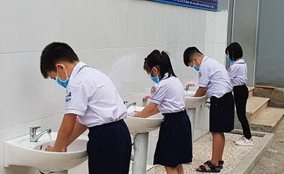 Triển khai các biện pháp chống dịch Covid-19 tại trường học