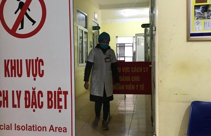 Bệnh viện vùng cao siết chặt quy trình chống dịch bệnh