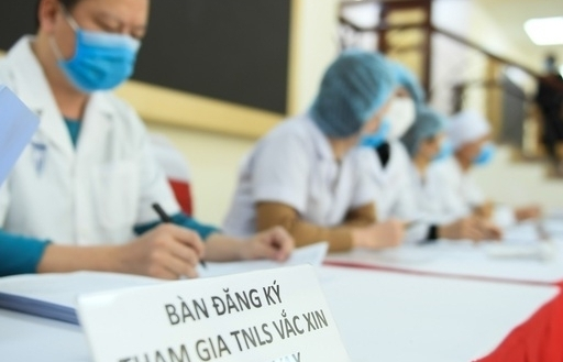 Thêm 17 người được tiêm thử nghiệm vắc xin Covid-19 của Việt Nam
