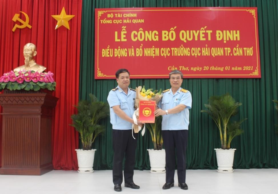 Phó Vụ trưởng Vụ Pháp chế được bổ nhiệm làm Cục trưởng Cục Hải quan Cần Thơ