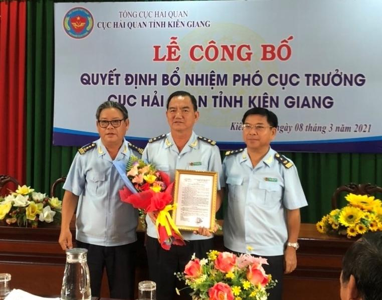 Cục Hải quan Kiên Giang có Phó Cục trưởng mới
