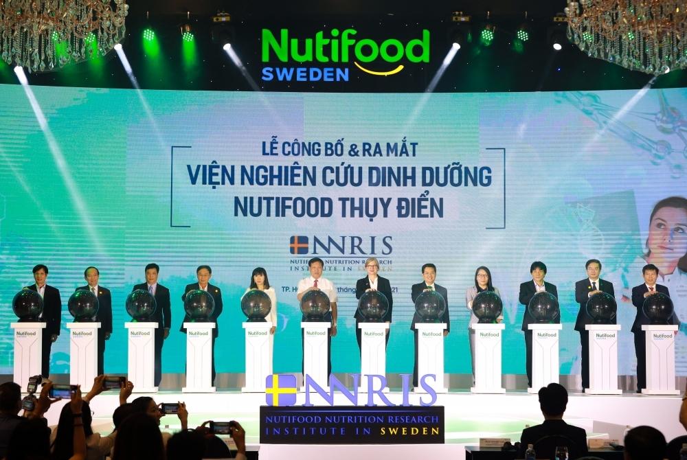 NutiFood ra mắt Viện Nghiên Cứu Dinh Dưỡng NutiFood Thuỵ Điển (NNRIS)