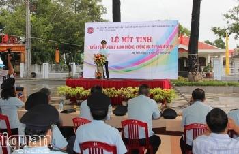 Tuyên truyền phòng chống ma túy tại Hà Tiên- Kiên Giang