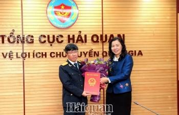 Bổ nhiệm ông Lưu Mạnh Tưởng giữ chức vụ Phó Tổng cục trưởng Tổng cục Hải quan