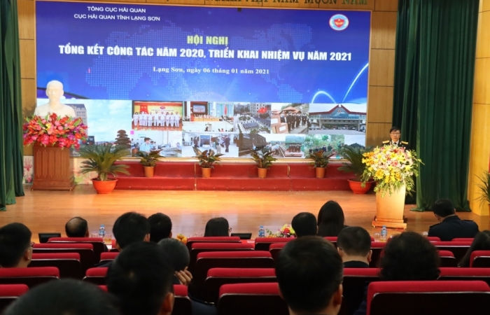 Hải quan Lạng Sơn hoàn thành xuất sắc nhiệm vụ thu ngân sách năm 2020