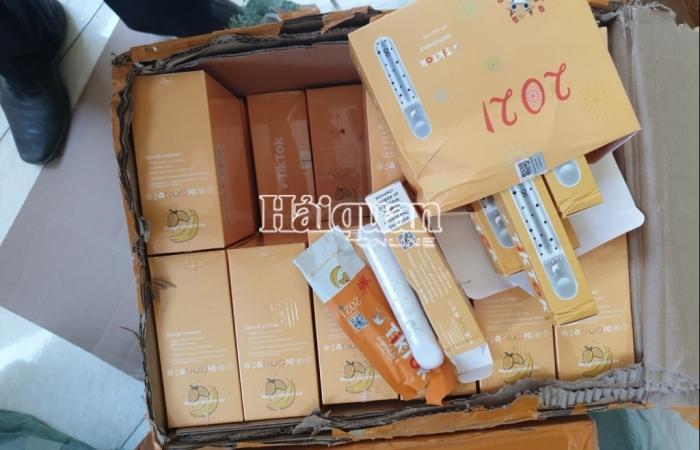 Hải quan Tân Thanh bắt giữ 2.300 điếu thuốc lá điện tử