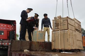 Hải quan Lạng Sơn nỗ lực thông quan hàng hóa dịp tết Kỷ Hợi