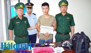 Nhận 21 năm tù cho hành vi vận chuyển thuê 3.000 viên ma túy qua biên giới