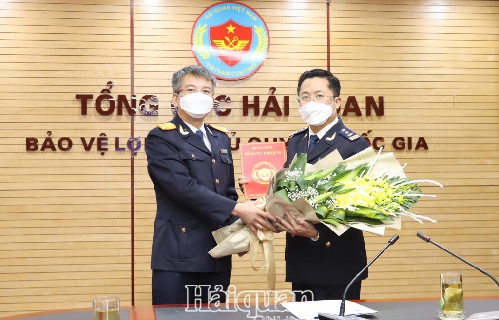 Ông Trần Việt Hưng giữ chức Phó Vụ trưởng Vụ Pháp chế- Tổng cục Hải quan