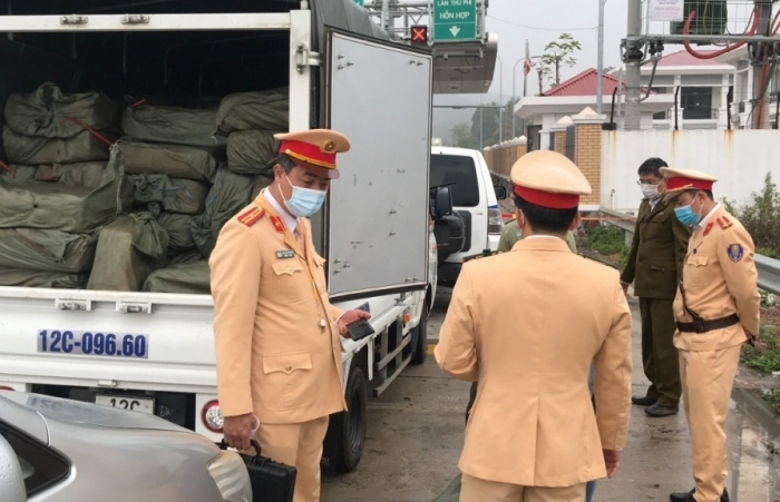 Lạng Sơn: Bắt giữ 2,5 tấn nầm lợn đông lạnh không rõ nguồn gốc