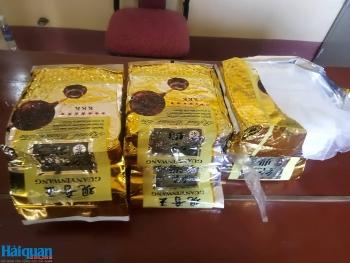 Bắt đối tượng vận chuyển 6 kg ma túy đá từ Lào về Việt Nam