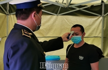 Lạng Sơn tăng cường phòng dịch covid-19 qua hoạt động XNK tại cửa khẩu
