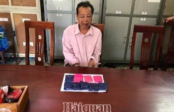 Hảiquan Nghệ An phối hợp bắt đối tượng vận chuyển 1.800 viên ma tuý tổng hợp