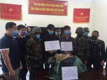 Hải quan HàTĩnh phát hiện và bắt giữ 9 vụ vận chuyển trái phép ma túy