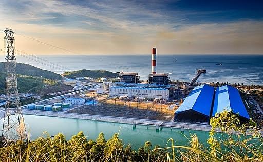 Toàn cảnh Nhà máy Nhiệt điện Vũng Áng 1.